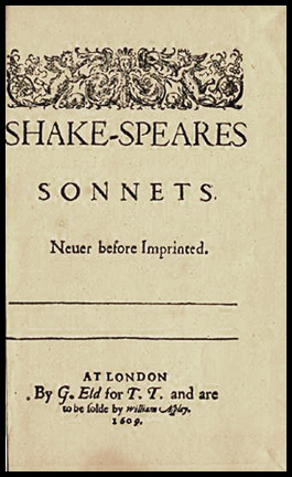 Sonnets Cover, Aspley Version