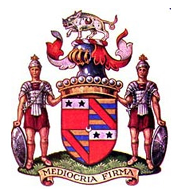 Bacon's coat of arms